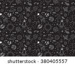 Seamless Pattern. Cosmic...