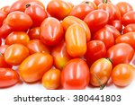 grape or cherry tomatoes... | Shutterstock . vector #380441803
