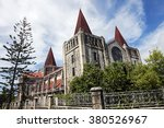 cathedral in downtown of nuku... | Shutterstock . vector #380526967