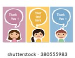 frames for text with the... | Shutterstock .eps vector #380555983
