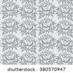 seamless vector background with ... | Shutterstock .eps vector #380570947