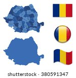 high detailed map of romania...