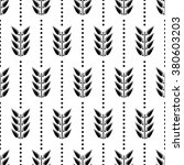 seamless floral vector pattern. ... | Shutterstock .eps vector #380603203