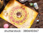 foretelling the future through... | Shutterstock . vector #380640367