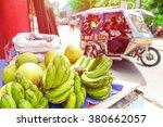 close up of bananas in... | Shutterstock . vector #380662057