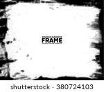 grunge frame   texture... | Shutterstock .eps vector #380724103