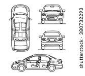 auto vector | Shutterstock .eps vector #380732293