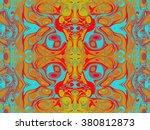 beautiful abstract pattern.... | Shutterstock . vector #380812873