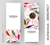 beautiful banner vector... | Shutterstock .eps vector #380829817