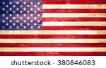 united states of america flag... | Shutterstock . vector #380846083