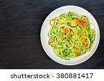 Low Carb Zucchini Noodle Dish...