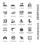 tourism   travel icons   set 3  | Shutterstock .eps vector #380893663