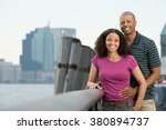 portrait of a couple | Shutterstock . vector #380894737