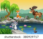 Cartoon Funny Animal Collectio...