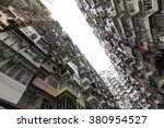 very crowded but colorful... | Shutterstock . vector #380954527