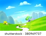creative illustration and... | Shutterstock . vector #380969737