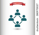 social network icon vector ...