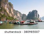 Floating Village In Halong Bay...