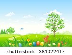 vector illustration of an... | Shutterstock .eps vector #381022417