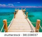 beautiful amazing nature... | Shutterstock . vector #381108037
