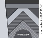 vector gray material design...