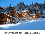 Alpine Wooden Chalet In The...