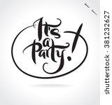 It's A Party Original Custom...
