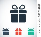 gift icon  gift vector icon ...