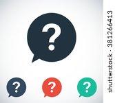question vector icon | Shutterstock .eps vector #381266413