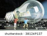 photographer find creative idea ... | Shutterstock . vector #381269137