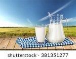 milk.   Shutterstock . vector #381351277