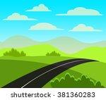 vector illustration of the... | Shutterstock .eps vector #381360283