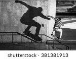 Skate  Shadow  Bulgaria  Varna...