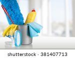 cleaning. | Shutterstock . vector #381407713