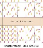 classic collection of patterns...   Shutterstock .eps vector #381426313