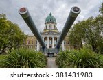 imperial war museum in london ... | Shutterstock . vector #381431983