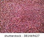 red beans | Shutterstock . vector #381469627