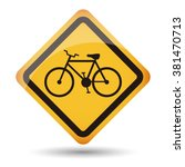 icon bycicle vector