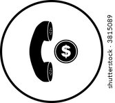 Coin Operated Telephone Symbol