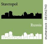 stavropol  russia | Shutterstock .eps vector #381542743
