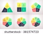 polygonal elements for...   Shutterstock .eps vector #381574723