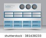 flyer  brochure  magazine cover ... | Shutterstock .eps vector #381638233