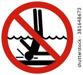 no diving in shallow end....