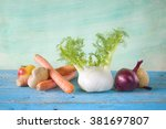 fennel with vegetables healthy...