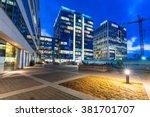 gdansk  poland   february 23 ... | Shutterstock . vector #381701707