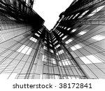 abstract skyscrapers | Shutterstock . vector #38172841