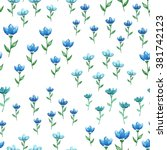 vector seamless pattern with... | Shutterstock .eps vector #381742123