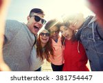 tourism  travel  people ... | Shutterstock . vector #381754447