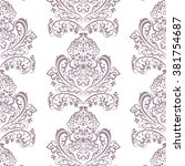 Vector Floral Lace Pattern In...