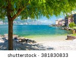 Beautiful Beach On Garda Lake ...